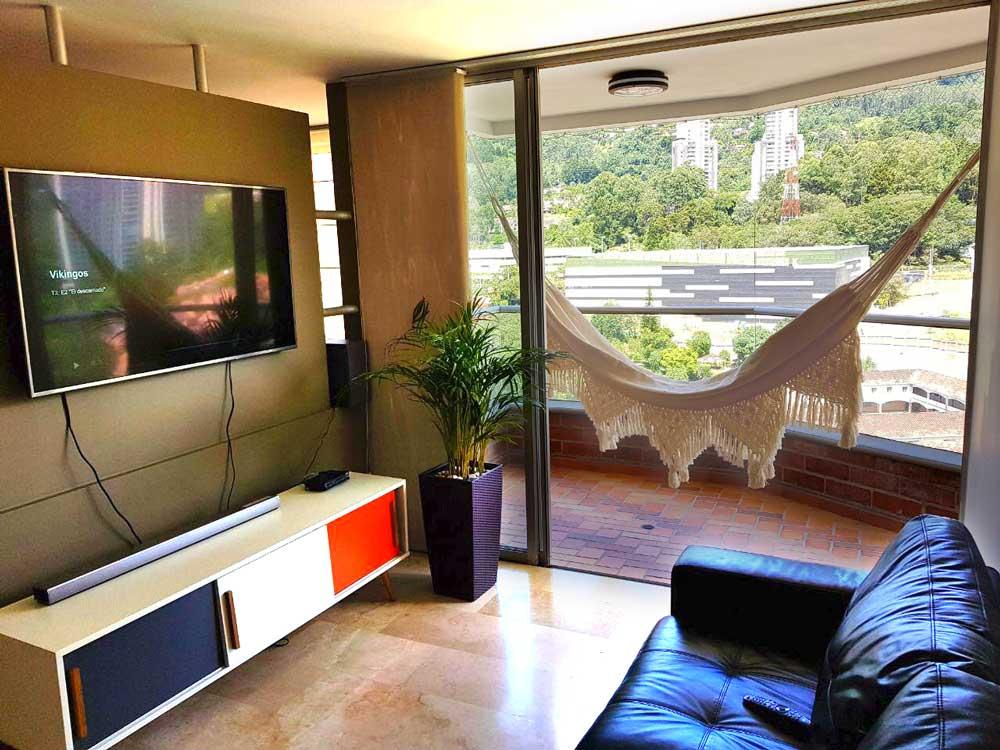 balcony indoor hammock
