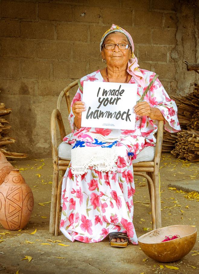 Wayuu Lady Hammock